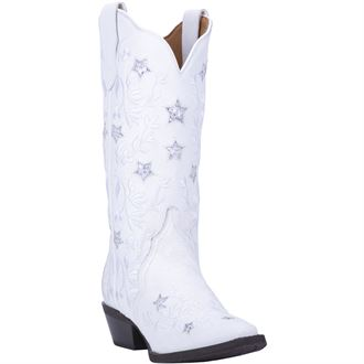 Dan Post® Laredo® Ladies' Lucky Star Leather Boots