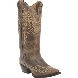 Dan Post® Laredo® Ladies' Jasmine Leather Boots in Taupe