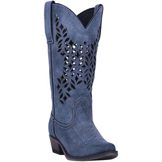 Dan Post® Laredo® Ladies' Chopped Out Leather Boots
