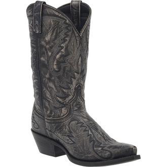 Dan Post® Laredo® Men's Garrett Leather Boots in Distressed Black