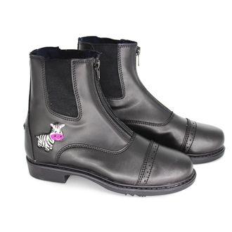 TuffRider® Children's Zebra Front-Zip Paddock Boots
