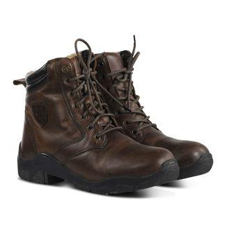Horze Chamonix Winter Leather Jodhpur Boots