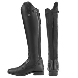 Riding Sport™ by Dover Saddlery® Ladies' Black Synthetic Leather Field Boots