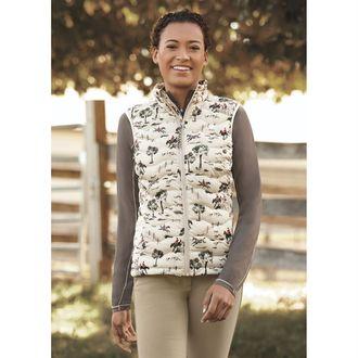 Ariat® Ladies' Ideal 3.0 Print Down Vest