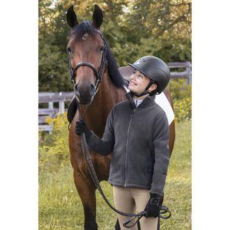 Dover Saddlery® Girls' Greylock Fleece Jacket