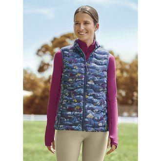 Ariat® Ladies' Ideal Down Print Vest