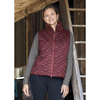 Dover Saddlery® exclusive! Noble Equestrian™ Ladies' Pearl Quilted Vest