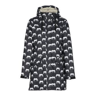 Horze Ladies' BilliePU Rain Jacket with Fleece