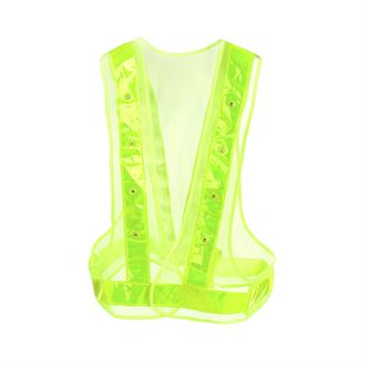 Horze High Visibility Safety Vest with LED lights
