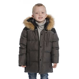 Horseware® Kids' Padded Parka with Removable Hood