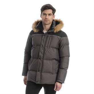 Horseware® Unisex Padded Parka with Removable Hood