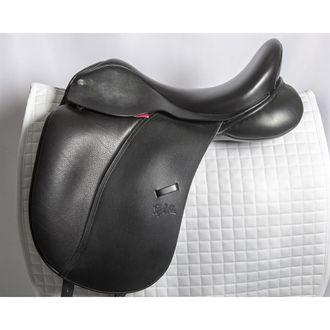 Almost New Custom Saddlery Steffen's Advantage Single Flap Dressage Saddle