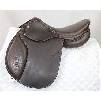 Used Circuit® by Dover Saddlery® Premier Special DS Saddle with Flocked Panels