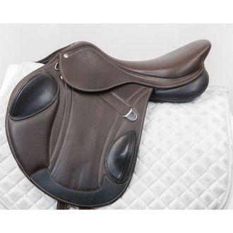 Used Bates Advanta Monoflap Eventing Saddle
