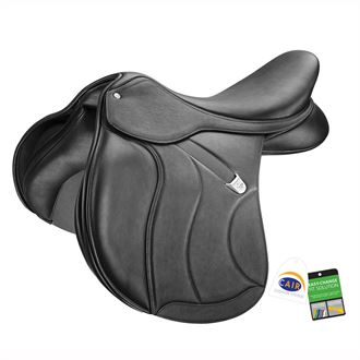 Bates All-Purpose SC+ Saddle in Luxe Leather with CAIR®