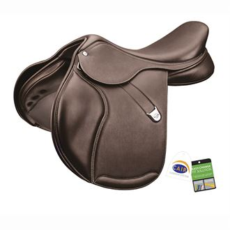 Bates Pony Elevation+ Saddle in Luxe Leather with CAIR®