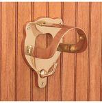 Dover Saddlery® Solid Brass Bridle Bracket