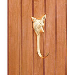 Dover Saddlery® Solid Brass Fox Hook