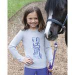 Irideon® Kids' Equestrian Long Sleeve Tee