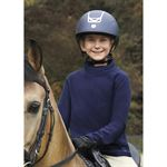 Riding Sport® by Dover Saddlery® Girls' Wrap Turtleneck Fleece Top