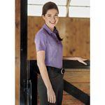 Dover Saddlery® Ladies' Jacquard Snap Polo Shirt