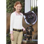 Dover Saddlery® Girls' Coolblast® Long Sleeve Show Shirt