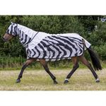 Bucas Buzz-Off Zebra Rain Sheet with Full Neck
