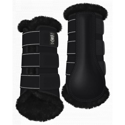 Mattes Custom Couture Sheepskin Front Boots