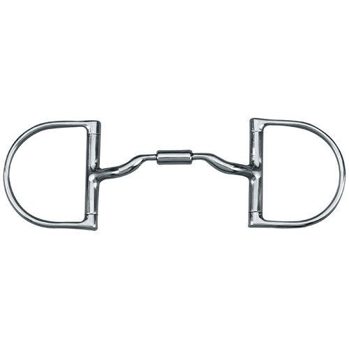 Myler® Low Port Comfort Snaffle D-Ring Bit MB 04