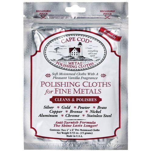 Cape Cod Metal Polishing Cloth