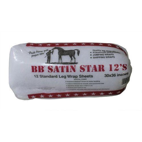BB Satin Star Satin Leg Wraps
