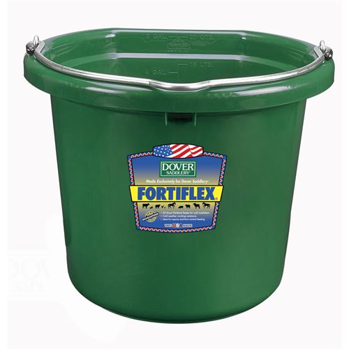 Fortiflex® 20-Quart FlatBack Bucket - Colors