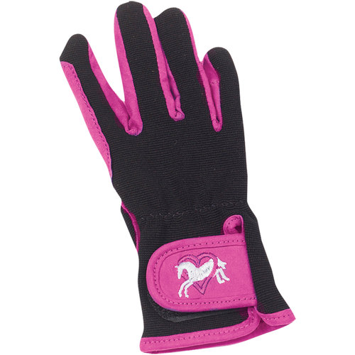 Winter Horse Blankets >> Ovation® Hearts & Horses Gloves | Dover Saddlery