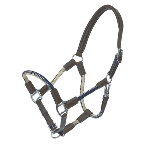 Kavalkade Rope & Leather Halter Set