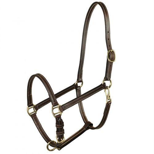 Horze Fremont Leather Horse Halter