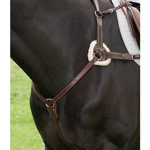 Winter Horse Blankets >> Henri De Rivel 5-Point Breastplate | Dover Saddlery