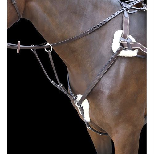 Shires Rossano Five-Point Breastplate
