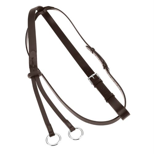 Horze Leather Running Martingale