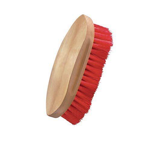 Dover Saddlery® Wood-Back Medium-Stiff Brush