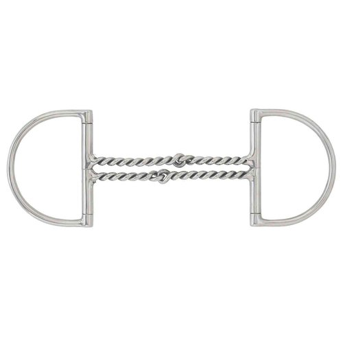 Curved Double Twisted Wire Hunter D-Ring Bit | Dover Saddlery