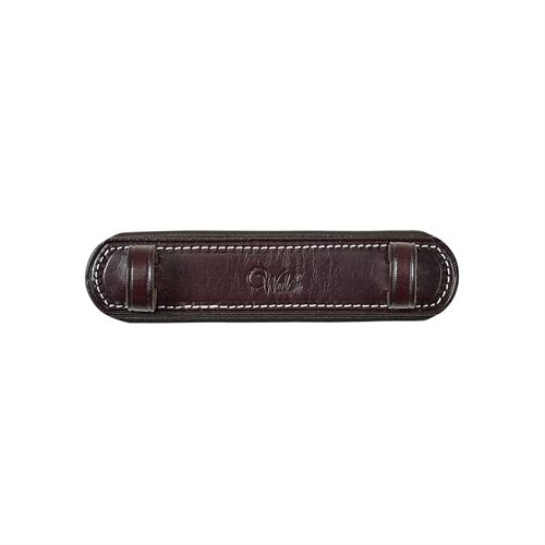 Walsh™ Leather Curb Chain Guard