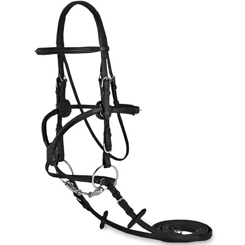 Vespucci Plain Raised Figure 8 Bridle