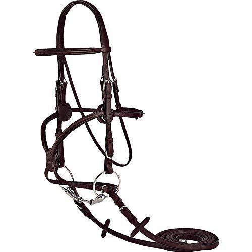 Vespucci Figure-8 Bridle Black