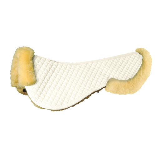 Roma® Sheepskin Half Pad with Full Rolled Edges