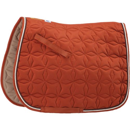Roma 174 Ecole Star Quilted All Purpose Saddle Pad Dover