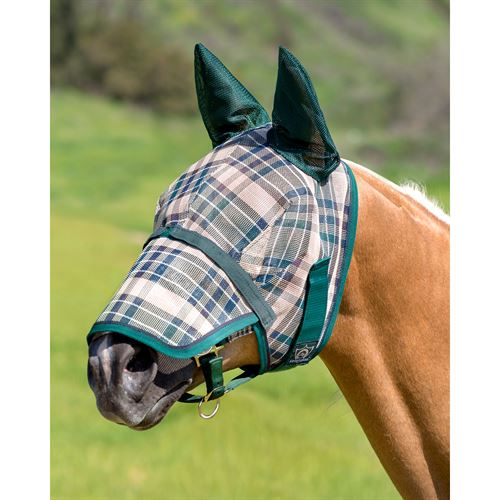 Kensington Fly Mask with Ears and Removable Nose
