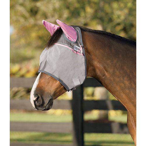 Cashel® Crusader™ Pink Fly Mask