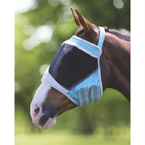 Shires Fine Mesh Fly Mask (Earless)