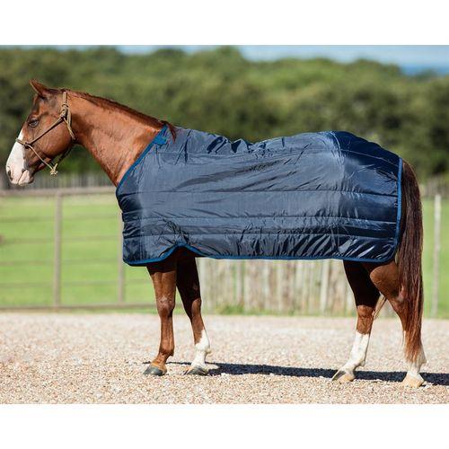 """Stretch Lycra Horse Sheet// Blanket Liner// Medium Fits 72-76/"""" Blanket Navy Blue"""