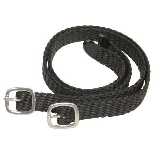 Herm Sprenger® Braided Nylon Spur Strap with Silver Buckle